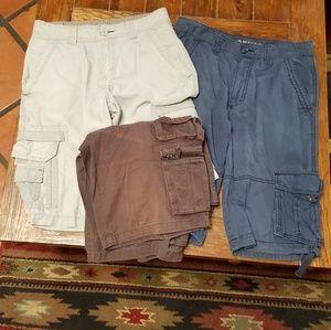 Other - Lot-----3 men cargo shorts